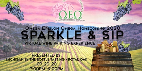 Sparkle & Sip: Virtual Wine Pairing Experience tickets