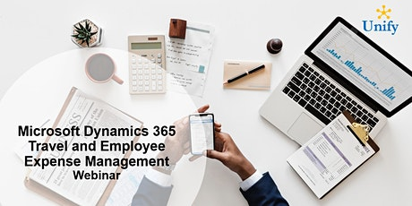 Microsoft Dynamics 365 Travel and Employee Expense Management Webinar billets