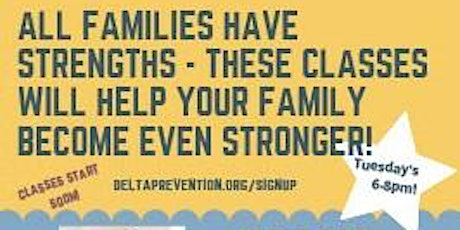 Strengthening Families Zoom Classes tickets