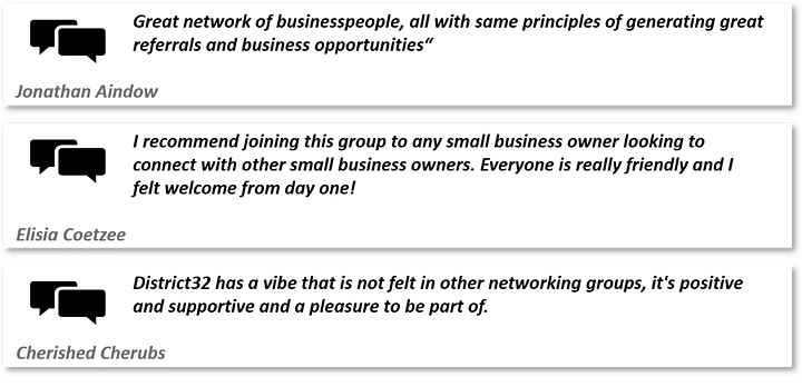 District32 Business Networking Perth – Morley - Wed 23rd Sept image