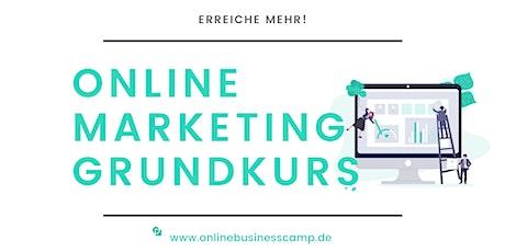 Online Marketing Grundkurs Tickets