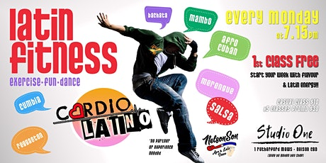 Cardio Latino * Latin Fitness Dance [1st class FREE] tickets