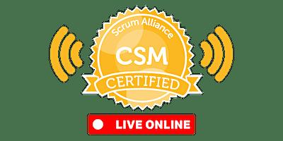 LIVE-ONLINE | Certified ScrumMaster® (CSM)
