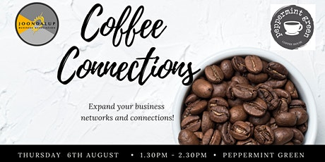 Coffee Connection - Networking Event - Peppermint Green tickets