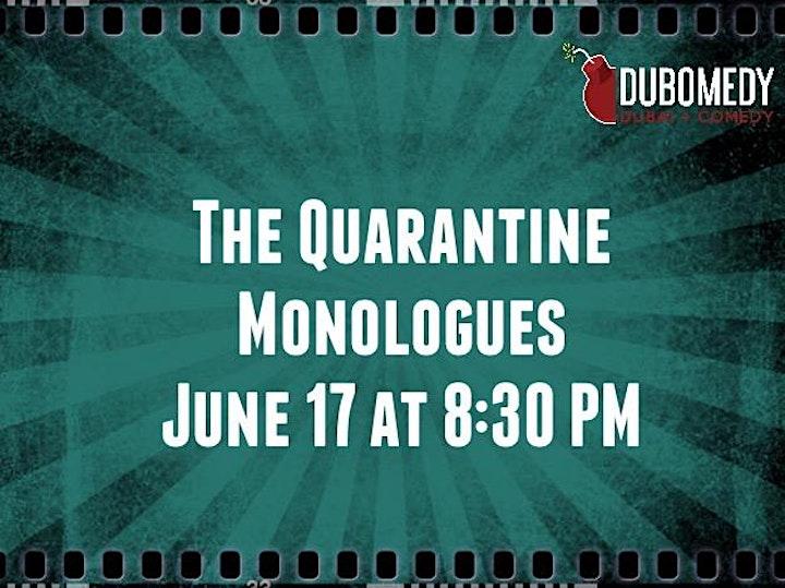 The Quarantine Monologues image