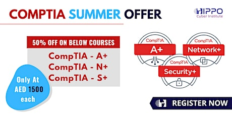 CompTIA Training in Half Price - 50% OFF tickets