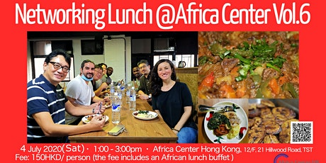 Networking Lunch Vol.6 @Africa Center tickets