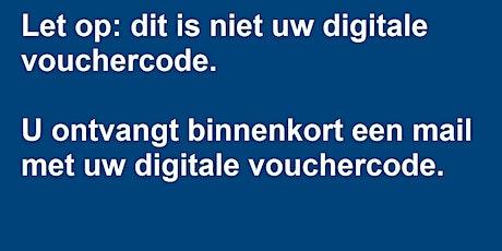 Bevestiging aanvraag digitale voucher tickets