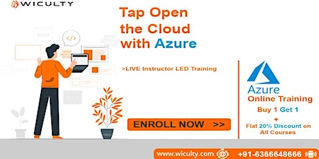 MS Azure Online Training | Instructor LED & Pure Hands-on Training|Weekend entradas