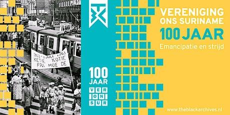 Expositie Surinamers in Nederland: 100 jaar emancipatie en strijd tickets