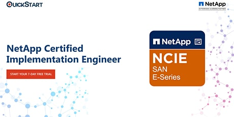 NetApp Certified Implementation Engineer (NCIE) - SAN Specialist (NCIE-SAN) tickets