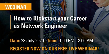 FREE WEBINAR | How to Kickstart your Career as Network Engineer tickets