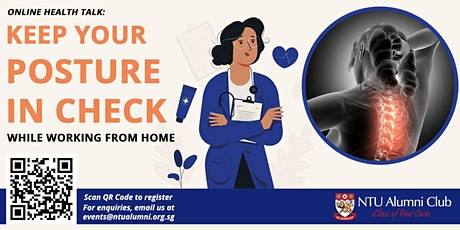 Keep Your Posture In Check While Working From Home tickets