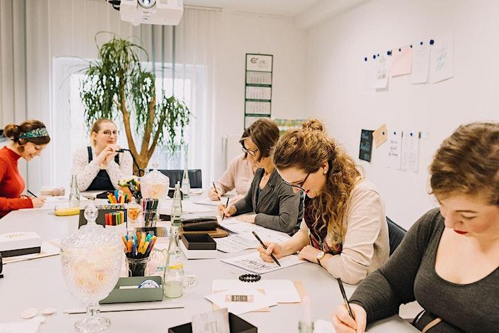 Handlettering und Brushlettering Workshop für Anfänger: Bild