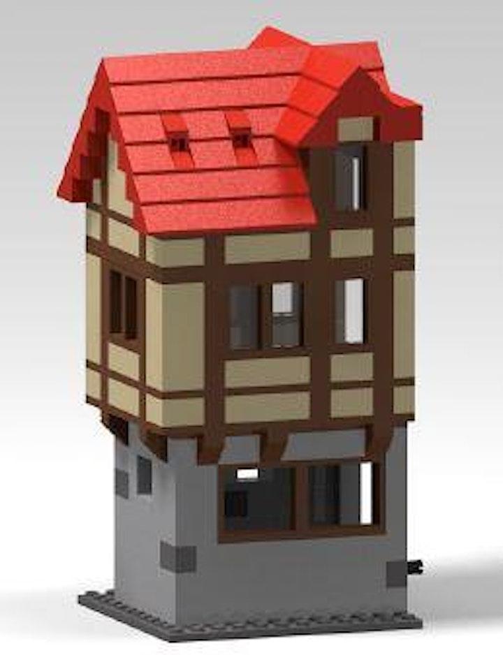 """Image pour Atelier """"Lego at Home"""" : ma maison alsacienne à pan de bois"""