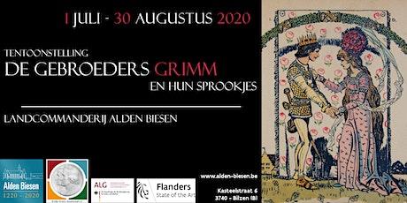 Tentoonstelling: Er was eens....de gebroeders Grimm en hun sprookjes tickets