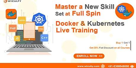 Docker & Kubernetes Online Training | Instructor LED Training| Weekend tickets
