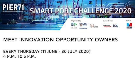 PIER71 Smart Port Challenge 2020 Roadshows tickets