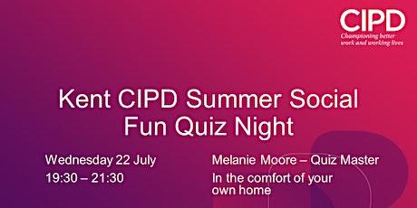 Kent Branch Summer Social - Fun Quiz tickets