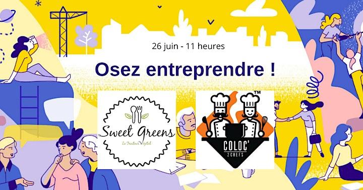 Image pour Entreprendre dans l'Alimentaire : Témoignage entrepreneure et présentation