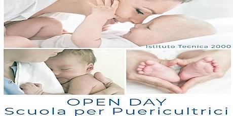 Open Day Scuola per Puericultrici - Evento a distanza su piattaforma ZOOM biglietti