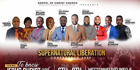 SUPERNATURAL LIBERATION CONFERENCE 2020 Day 1 (6th Aug) tickets