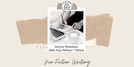 Creative Writing - Getting Started with Non-Fiction - Online Workshop tickets