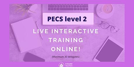 PECS Level 2 LIVE Online Workshop -  September 28 & 29 tickets