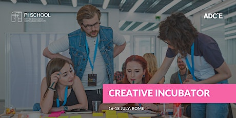 Creative Incubator Rome tickets
