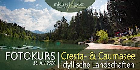 """Fotokurs """"Cresta- und Caumasee"""" Tickets"""
