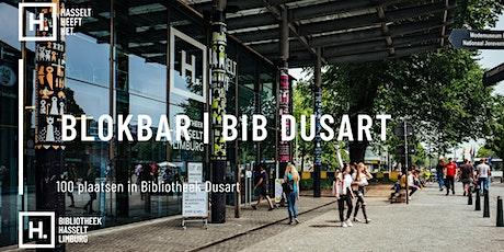 Blokbar Bib Dusart | 10.06 - 30.09 tickets