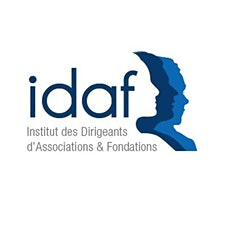 IDAF - Institut des dirigeants d'associations et fondations logo