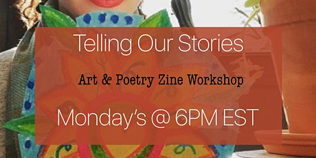 SocietyX Virtual: Telling Our Stories ( ZINE workshop) tickets
