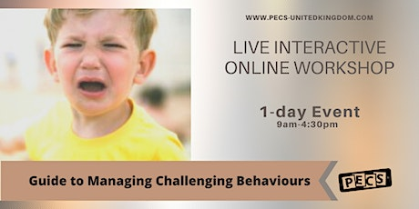 Guide to Managing Challenging Behaviour  - Online Workshop - Nov 17th tickets