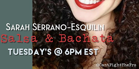 SocietyX Virtual: Salsa & Bachata Dance Class tickets