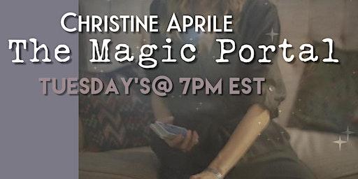 SocietyX Virtual: The Magic Portal with Christine Aprile