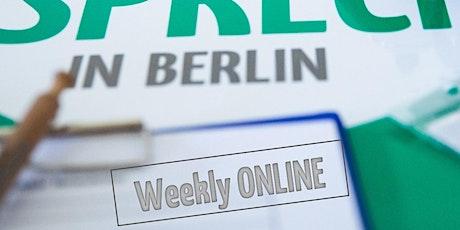 Weekly Online Tickets