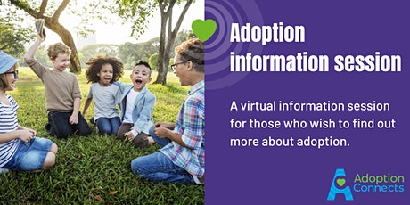 Online adoption information event tickets