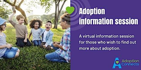 Online adoption information event biglietti