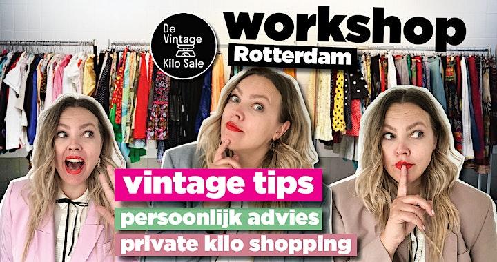 Workshop Vintage Kilo Sale  - 11 juli image