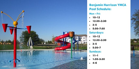 Benjamin Harrison YMCA Outdoor Pool Reservations tickets