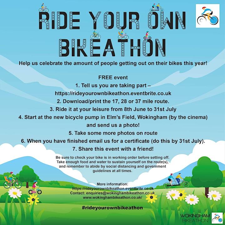 Ride your own Bikeathon image