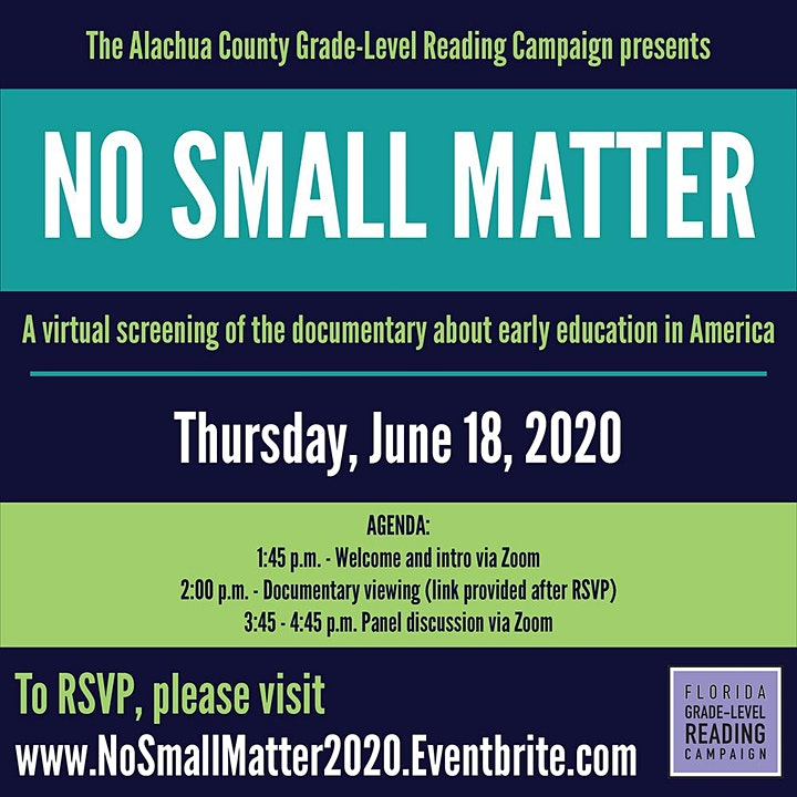 No Small Matter Documentary Screening and Panel Discussion image