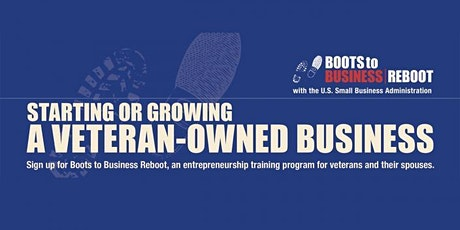Boots to Business Reboot - 2 day webinar tickets