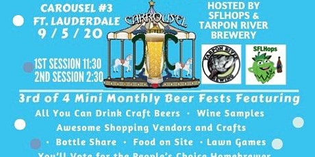 Craft Carousel Beer Festival #3 - FTL tickets