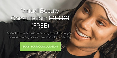 Virtual one-on-one skincare consulation at Vegan Cosmetics Store tickets