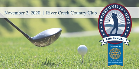 24th Annual Opportunities Open Golf Tournament tickets