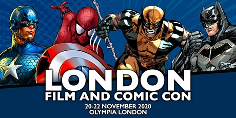 London Film & Comic Con 2020 tickets