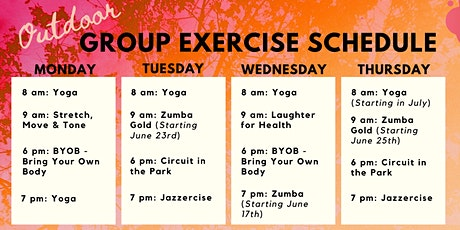 Dunedin Community Center Outdoor Group Exercise tickets