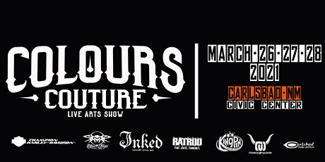Colours Couture - Carlsbad Tattoo Show 2021 tickets